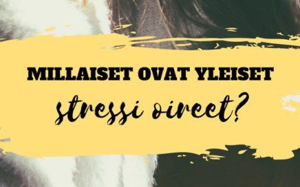 stressi oireet